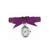 Buy Accessorize Ladies Purple Material Strap Watch S1068 online