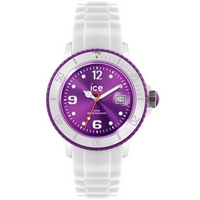 Buy Ice-Watch Ladies Sili White Rubber Strap Watch SI.WV.U.S.12 online
