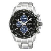 Buy Seiko Gents Sportura Chronograph Watch SNAE63P1 online