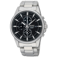 Buy Seiko Gents Chronograph Watch SNAF03P1 online