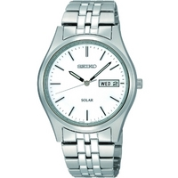 Buy Seiko Solar Powered Gents Bracelet Watch SNE031P1 online
