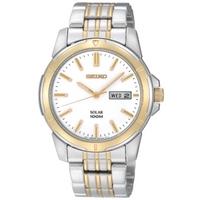 Buy Seiko Solar Powered Gents Bracelet Watch SNE094P1 online