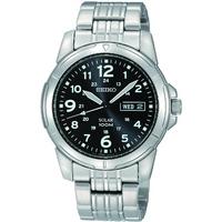 Buy Seiko Solar Powered Gents Bracelet Watch SNE095P1 online