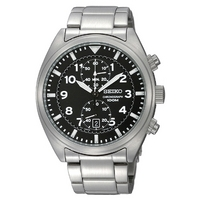 Buy Seiko Gents Chronograph Watch SNN231P1 online
