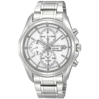 Buy Seiko Solar Powered Gents Bracelet Watch SSC003P1 online