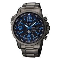 Buy Seiko Gents Solar Powered Chronograph Watch SSC079P1 online