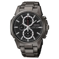 Buy Seiko Gents Solar Powered Chronograph Watch SSC095P1 online