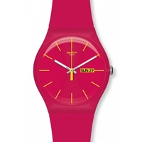 Buy Swatch Unisex Pink Rebel Watch SUOR704 online