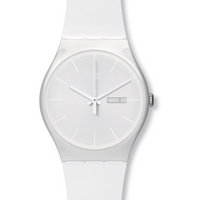Buy Swatch Gents White Rebel Watch SUOW701 online