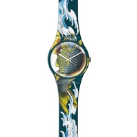 Buy Swatch Gents Waved Koi Watch SUOZ152 online