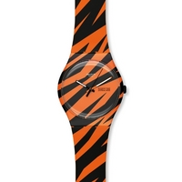 Buy Swatch Ladies Wonder Zebra Watch SUOZ703 online