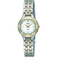 Buy Seiko Solar Powered Ladies Bracelet Watch SUP004P1 online