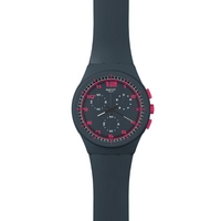 Buy Swatch Ladies A Touch Of Fuschia Watch SUSA400 online