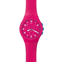 Buy Swatch Ladies Pink Frame Watch SUSR401 online