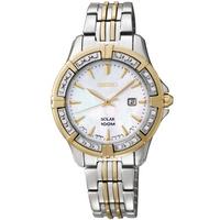 Buy Seiko Ladies Solar Powered Watch SUT072P9 online
