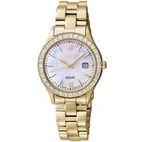 Buy Seiko Ladies Solar Powered Watch SUT076P9 online