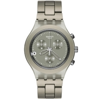 Buy Swatch Gents Irony Chrono Full Blooded Smoky Sand Watch SVCG4000AG online