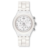 Buy Swatch Gents Irony Chrono Full Blooded White Watch SVCK4045AG online