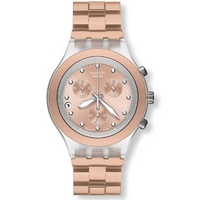 Buy Swatch Gents Irony Chrono Full Blooded Caramel Watch SVCK4047AG online