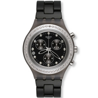 Buy Swatch Ladies Irony Chrono Stoneheart Silver Watch SVCM4009AG online