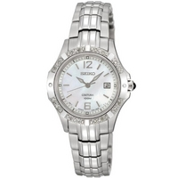 Buy Seiko Ladies Coutura Mother Of Pearl Dial Bracelet Watch SXDE19P1 online