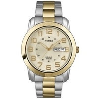 Buy Timex Gents Two-Tone Watch T2N439 online
