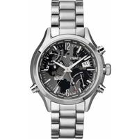 Buy Timex Intelligent Quartz World Time Bracelet Chronograph Watch T2N944 online