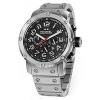 Buy T W Steel Tech Gents Chronograph Steel Bracelet Watch TW127 online
