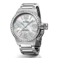 Buy T W Steel Canteen 40mm Stainless Steel Bracelet Watch TW302 online