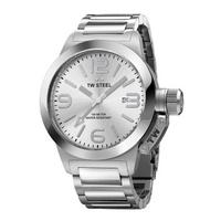 Buy T W Steel Canteen 40mm Stainless Steel Bracelet Watch TW304 online