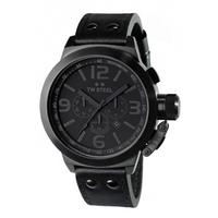 Buy T W Steel Gents Icon Black Steel Watch TW843 online