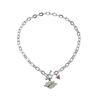 Buy Guess Ladies Tattoo Necklace UBN11003 online