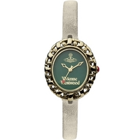 Buy Vivienne Westwood Ladies White Leather Strap Watch VV005GRGY online