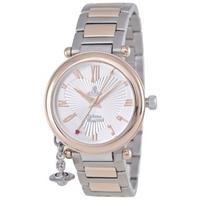 Buy Vivienne Westwood Ladies Orb 2 Tone Steel Bracelet Watch VV006RSSL online