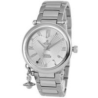 Buy Vivienne Westwood Ladies Orb Stainless Steel Bracelet Watch VV006SL online