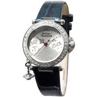 Buy Vivienne Westwood Ladies Orb Blue Leather Strap Watch VV006SLTL online