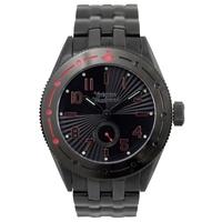 Buy Vivienne Westwood Gents Black Steel Bracelet Watch VV007BKBK online