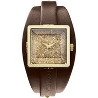 Buy Vivienne Westwood Ladies Brown Leather Strap Watch VV008GDBR online