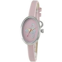Buy Vivienne Westwood Ladies Pink Leather Strap Watch VV019LPK online