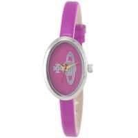 Buy Vivienne Westwood Ladies Pink Leather Strap Watch VV019PK online