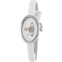 Buy Vivienne Westwood Ladies White Leather Strap Watch VV019WH online