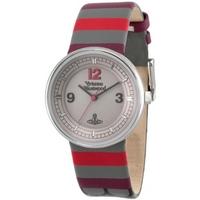 Buy Vivienne Westwood Unisex Spirit Leather Strap Watch VV020GY online