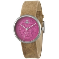 Buy Vivienne Westwood Ladies Neptune Leather Strap Watch VV021PKTN online