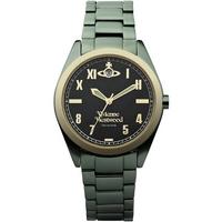 Buy Vivienne Westwood Ladies Green Aluminium Bracelet Watch VV049BKGR online