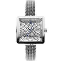 Buy Vivienne Westwood Ladies Silver Tone Steel Bracelet Watch VV053SLSL online