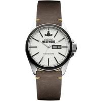 Buy Vivienne Westwood Ladies Brown Leather Strap Watch VV063SLBR online