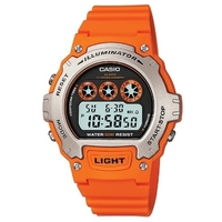 Buy Casio Gents Illuminator Watch W-214H-4AVEF online