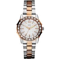 Buy Guess Ladies Fashion 2-Tone Bracelet Watch W0018L3 online