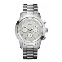 Buy Guess Ladies Silver Bracelet Watch W12605L online