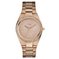 Buy Guess Ladies Rose Gold Tone Bracelet Watch W12651L1 online